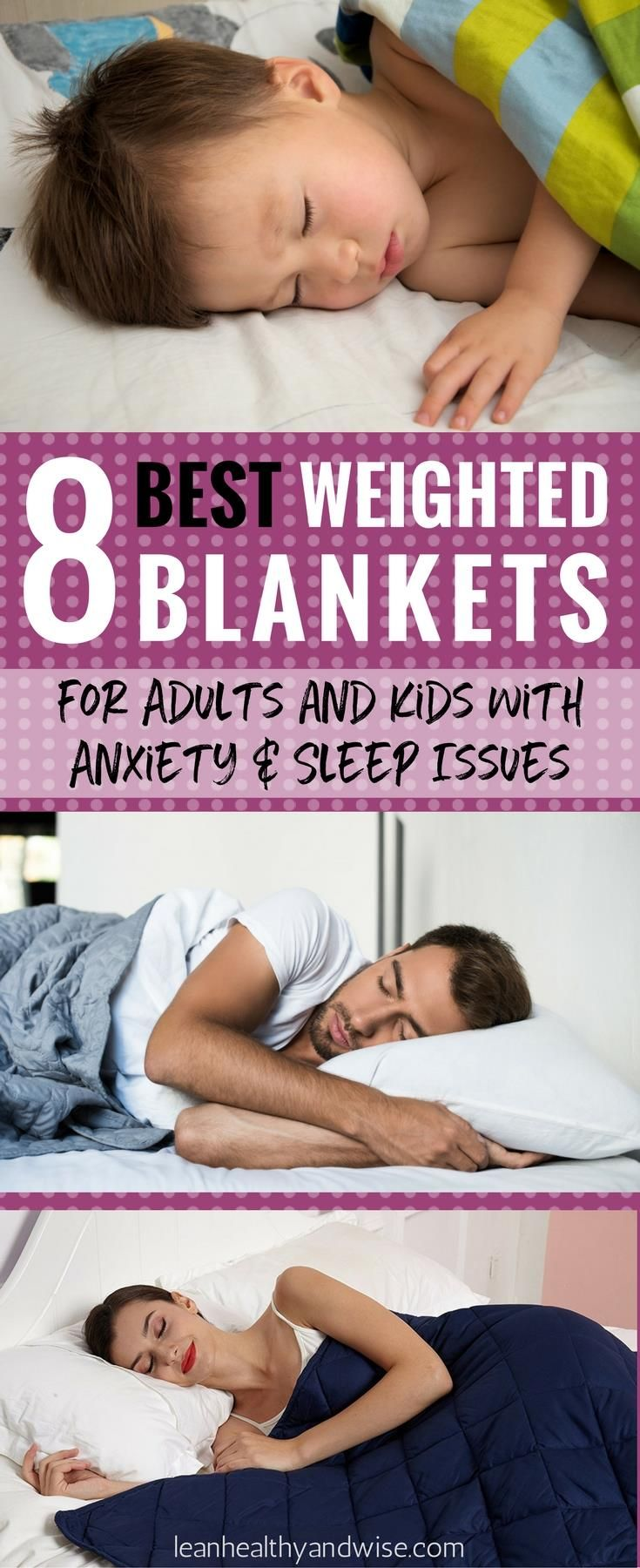 Check out the amazing weighted blankets that can be safely used by kids and adul...