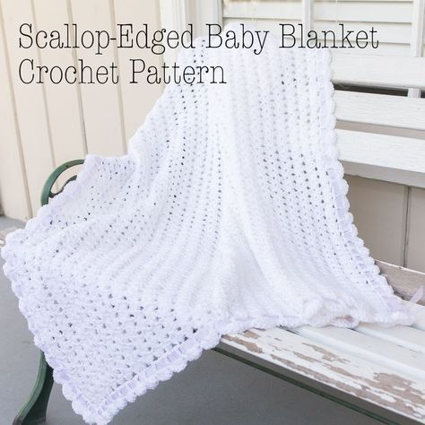 I crocheted a baby blanket for my cousin's new baby last year. I've finall...