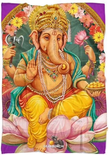 Lord Ganesha Blanket   blanket ideas   gift ideas