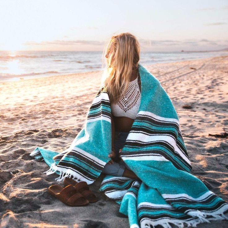 Mint Yoga Blanket