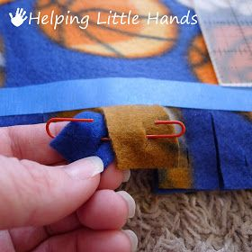Pieces by Polly: Double Layered No-Sew
