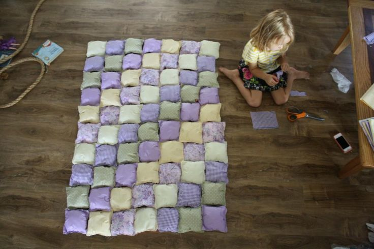 Puff Quilt Tutorial .... would this work with weighted blankets