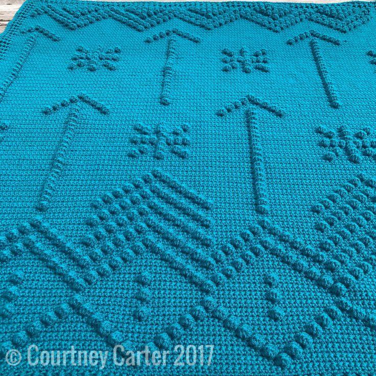 Shooting Arrows Bobble Blanket | Crocheting Crazy