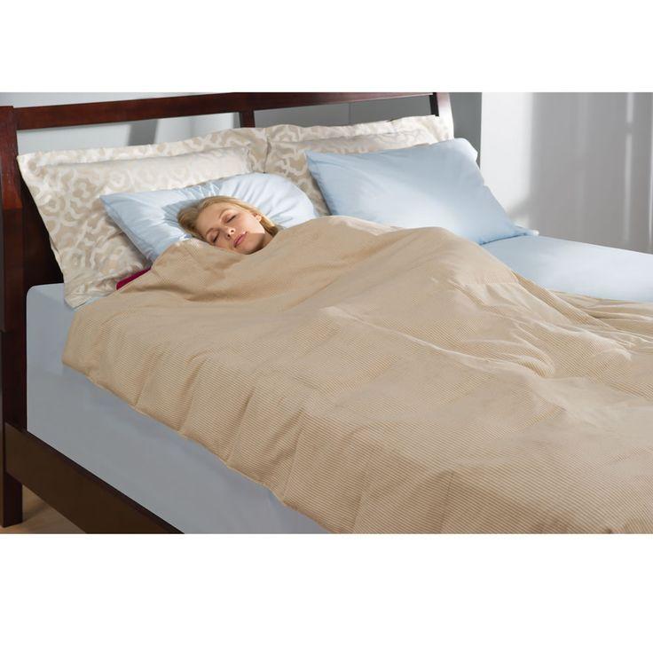 The Swaddling Relaxation Blanket - Hammacher Schlemmer