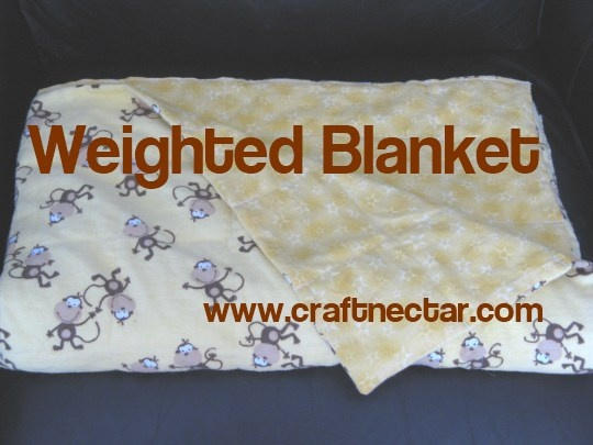 Weighted - DIY weighted blanket