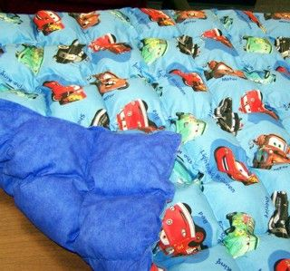 Weighted blanket -- on our 2nd one, they are great  Therapeutic weighted blanket...