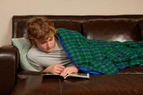 Weighted blankets reduce anxiety symptoms and insomnia in people experiencing PT...