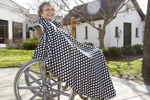 Wheelchair Capes--Single Weight - Wrapt - 3