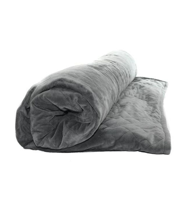 Word is, weighted blankets are the newest possible remedy for anxiety relief. He...