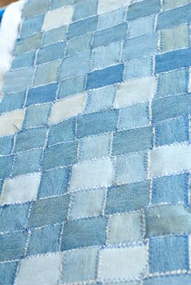 this would be a nice weighted blanket center.  Prairie Mother: Fake Quilting wit...