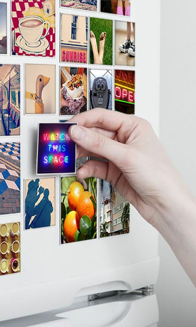 Diy Crafts These Cool Magnets Can Be Made With Photos From Your