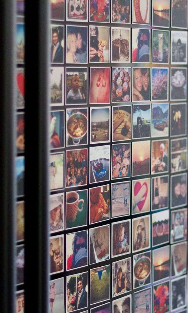 These cool magnets can be made with photos from your Instagram, camera-roll or d...