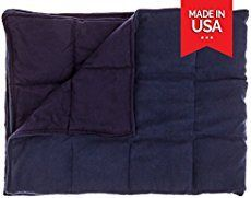 Sewing tutorial on how to make a weighted blanket. Detailed instructions on how ...