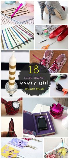 18 Life Hacks Every Girl Should Know | Easy DIY Projects for the Home