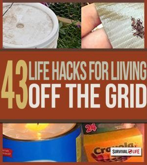 43 Life Hacks For Living Off the Grid | Off grid survival tips at survivallife.c...
