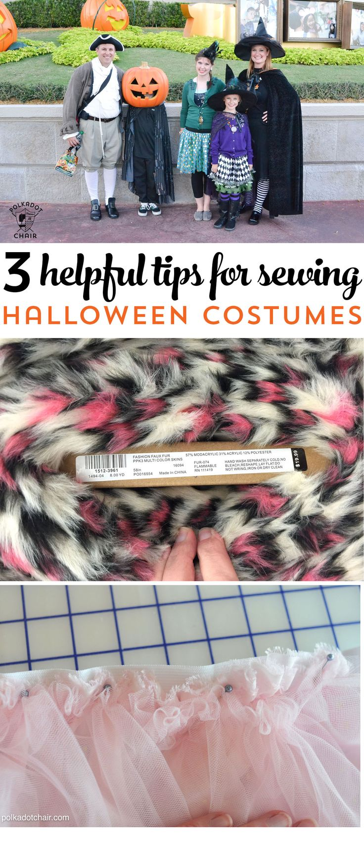 3 Simple and Helpful Tricks and Tips for Sewing Halloween costumes !