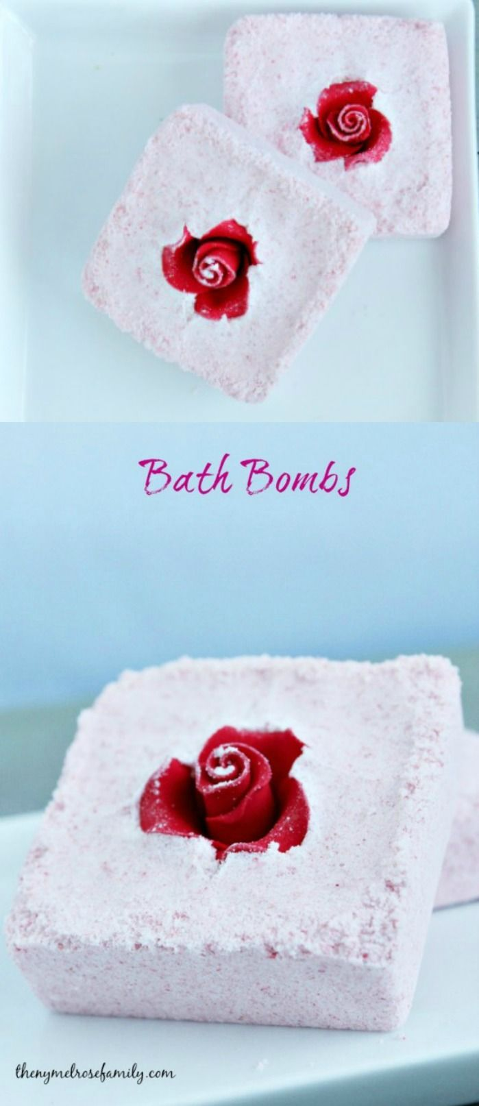 Beautiful Bath Bombs that are stunning and a perfect gift idea.
