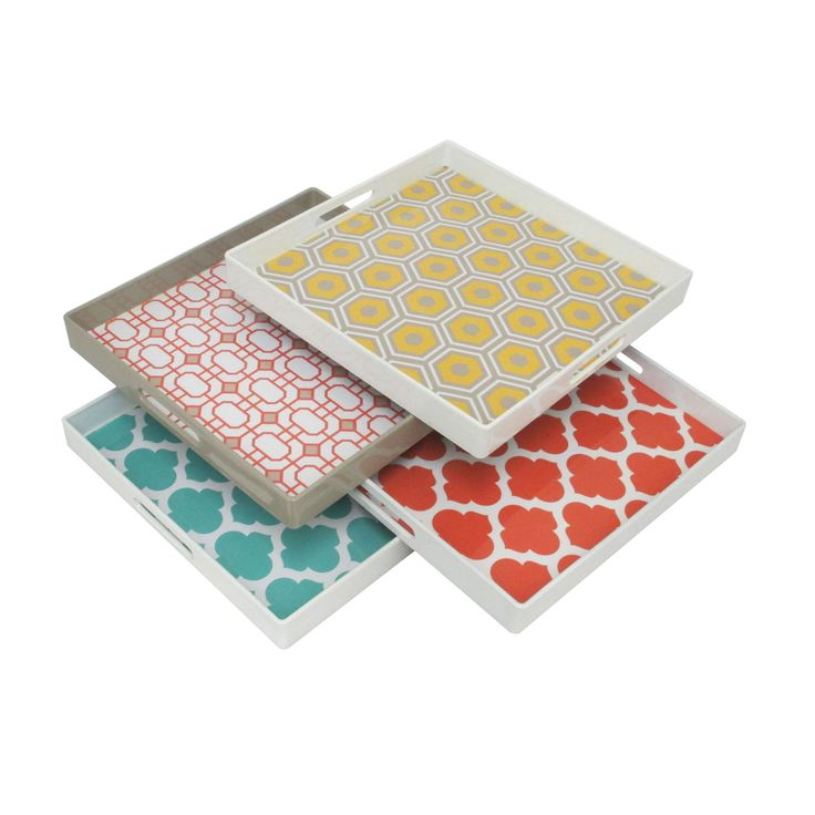 Bohemian Printed Trays