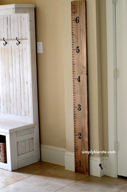 Capture your child's growth with a DIY growth chart | BabyCenter Blog