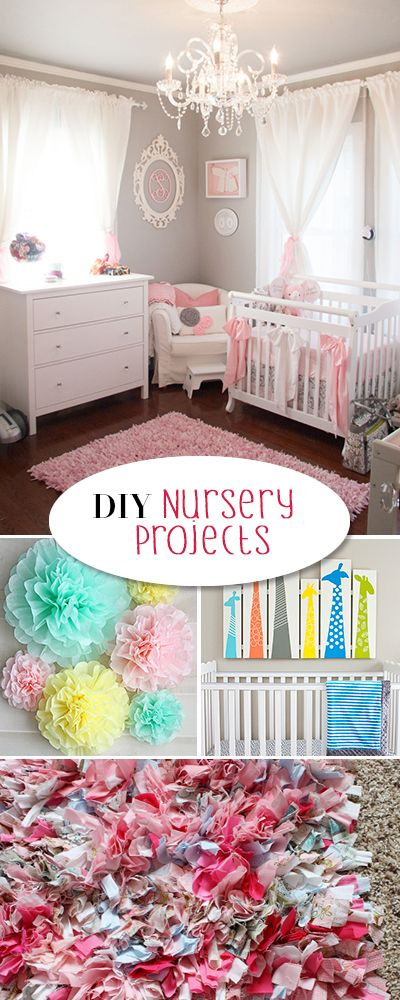 DIY Nursery Projects • Tutorials and inspiration for that perfect baby's r...
