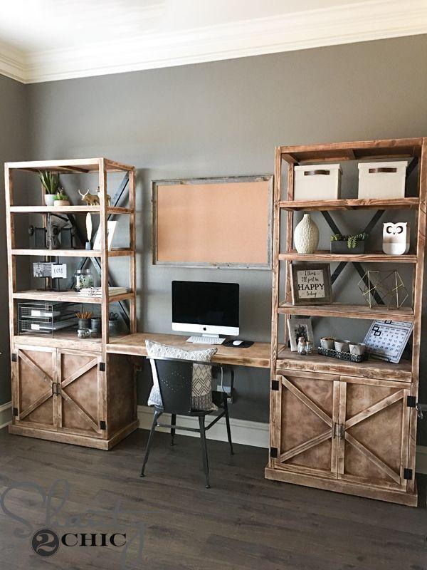 DIY Office Desk System