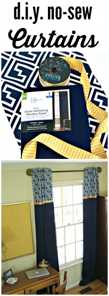 FABULOUS tutorial for DIY Window Curtains! Add these inexpensive window treatmen...