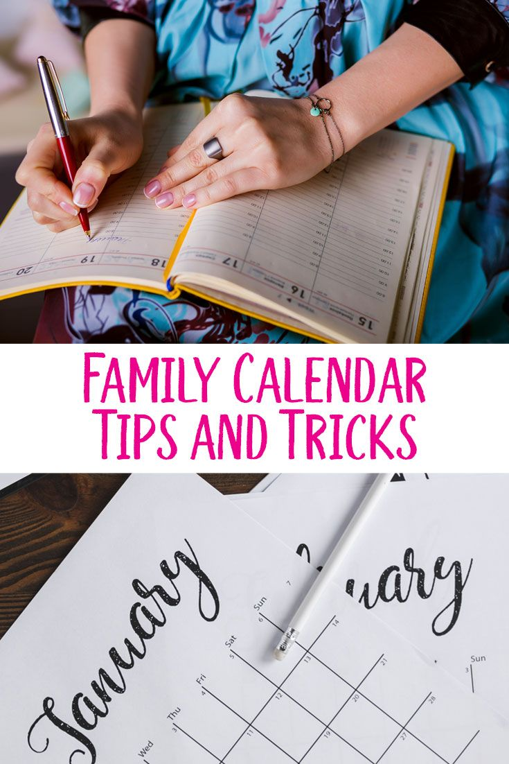 Family Calendar Tips and Tricks. Plus, $1000 for you, and $1000 for that man tha...