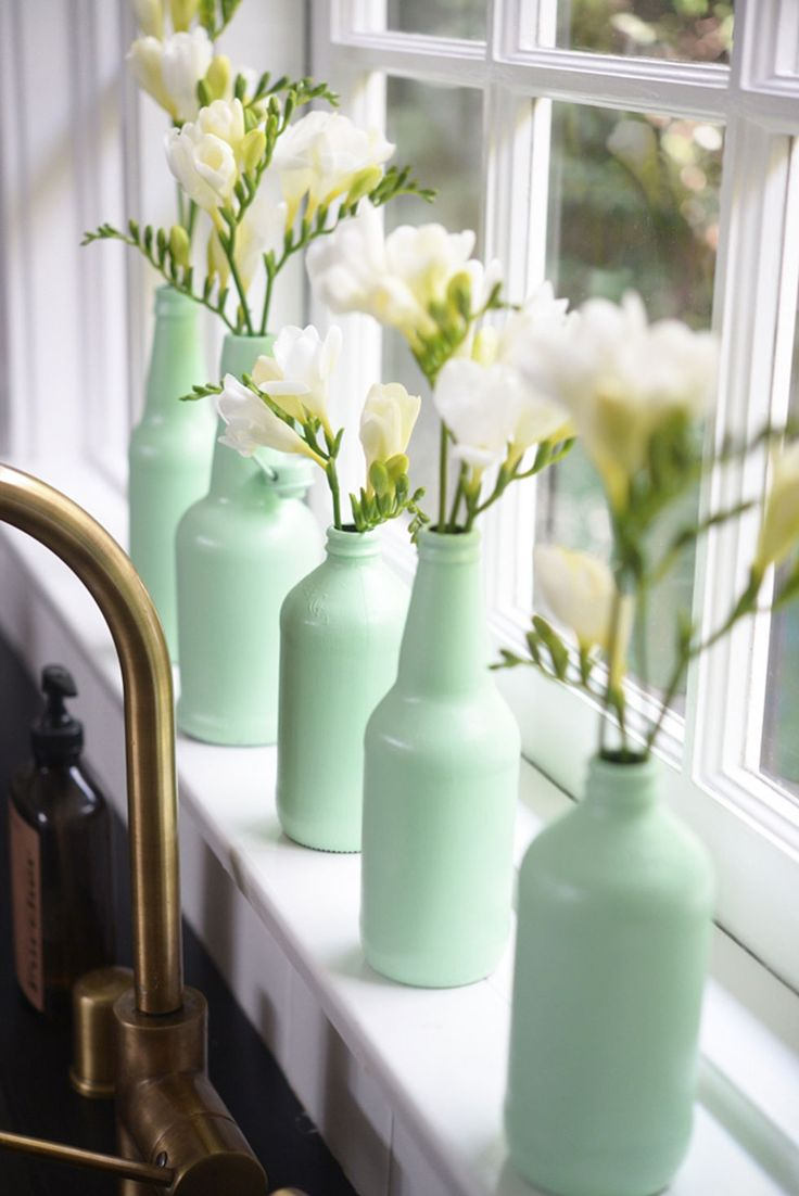 For what might be one of the simplest DIY projects ever, paint two layers of gla...