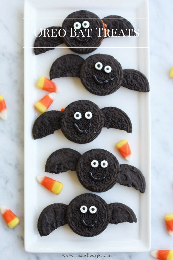 Get the kids in the kitchen to help make this fun Halloween treat. These oreo ba...