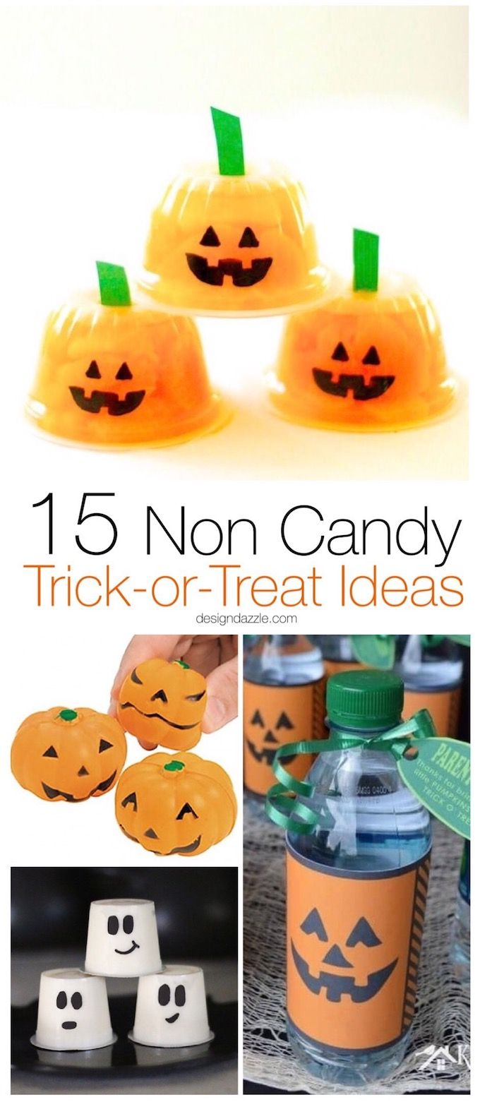 Halloween can be filled with so much sugar so this post has 15 fabulous non cand...