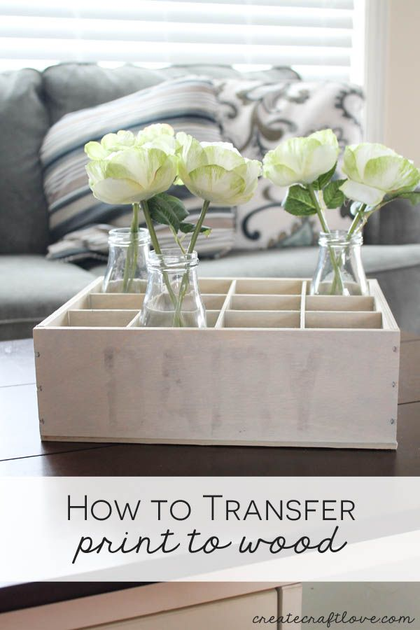 Let me show you how to transfer print to wood and create your own vintage milk c...