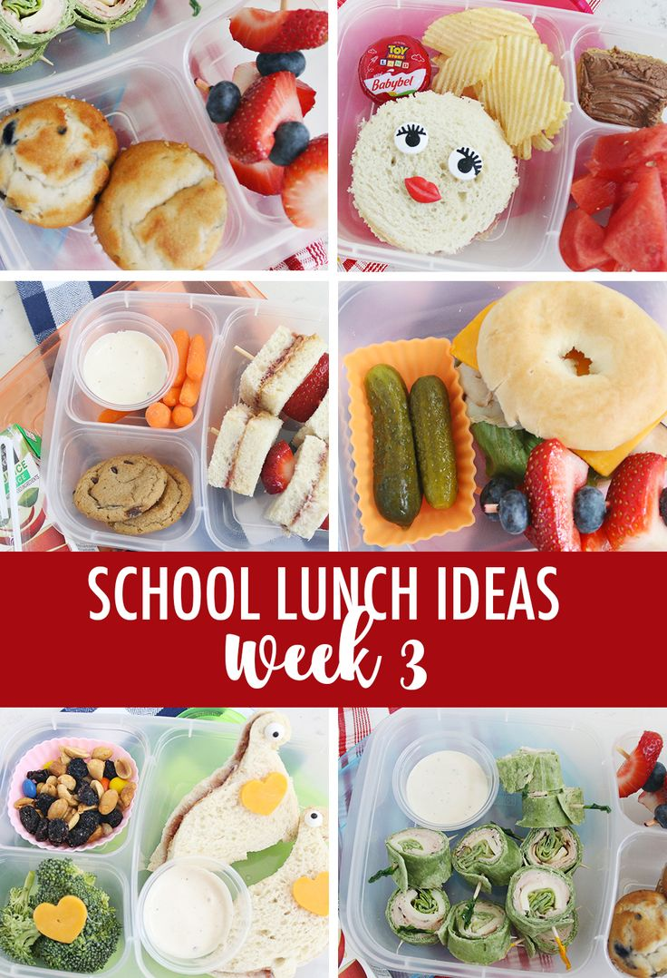 Lunch Ideas for School Week 3 | Five lunch ideas for school week 3 to keep the l...