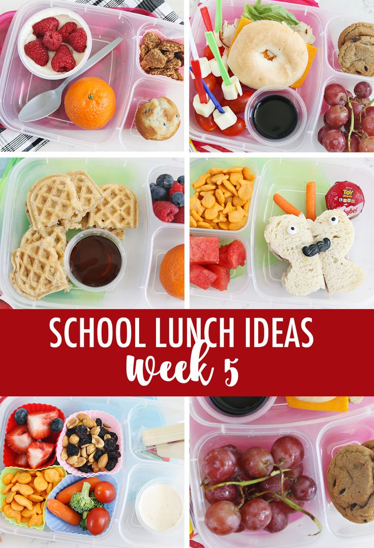 Lunch Ideas for School Week 5 | Five lunch ideas for school week 3 to keep the l...