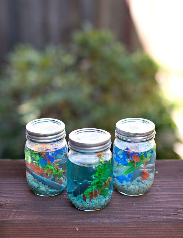 Diy Crafts Make A Mason Jar Aquarium Diyall Net Home Of Diy Craft Ideas Inspiration Diy Projects Craft Ideas How To S For Home Decor With Videos