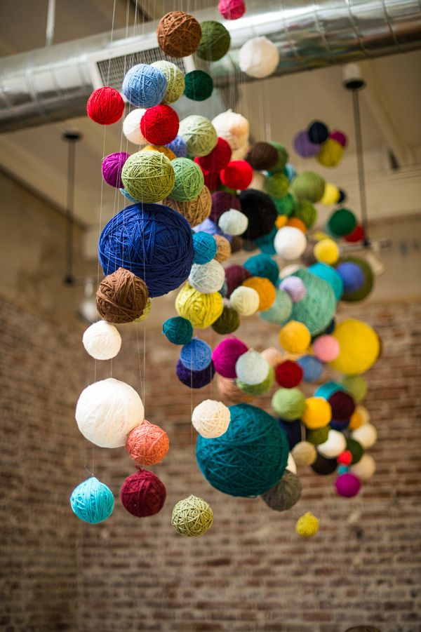 Pay homage to your craft with a cascade of beautiful yarn! Plus 33 more ideas fo...