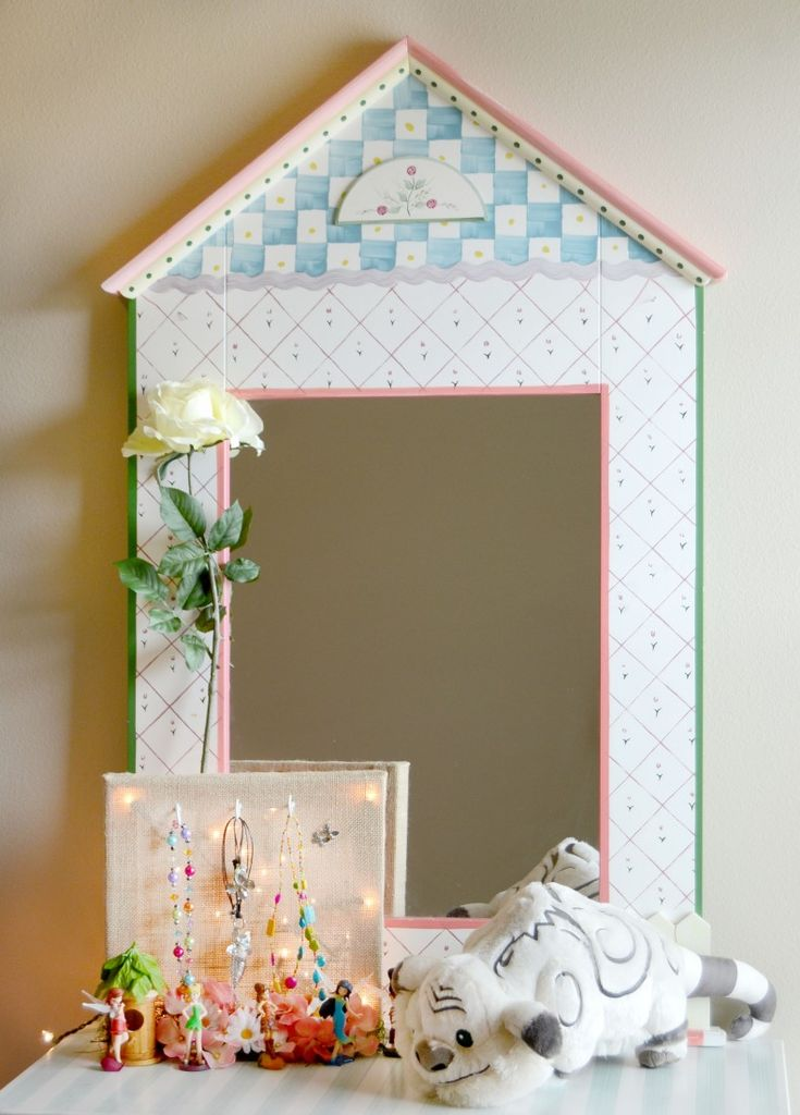 Pixie Hollow Jewelry Holder for every girls room. Inspired by Disney's TinkerB...