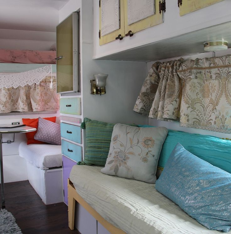 Sweet camper renovation.