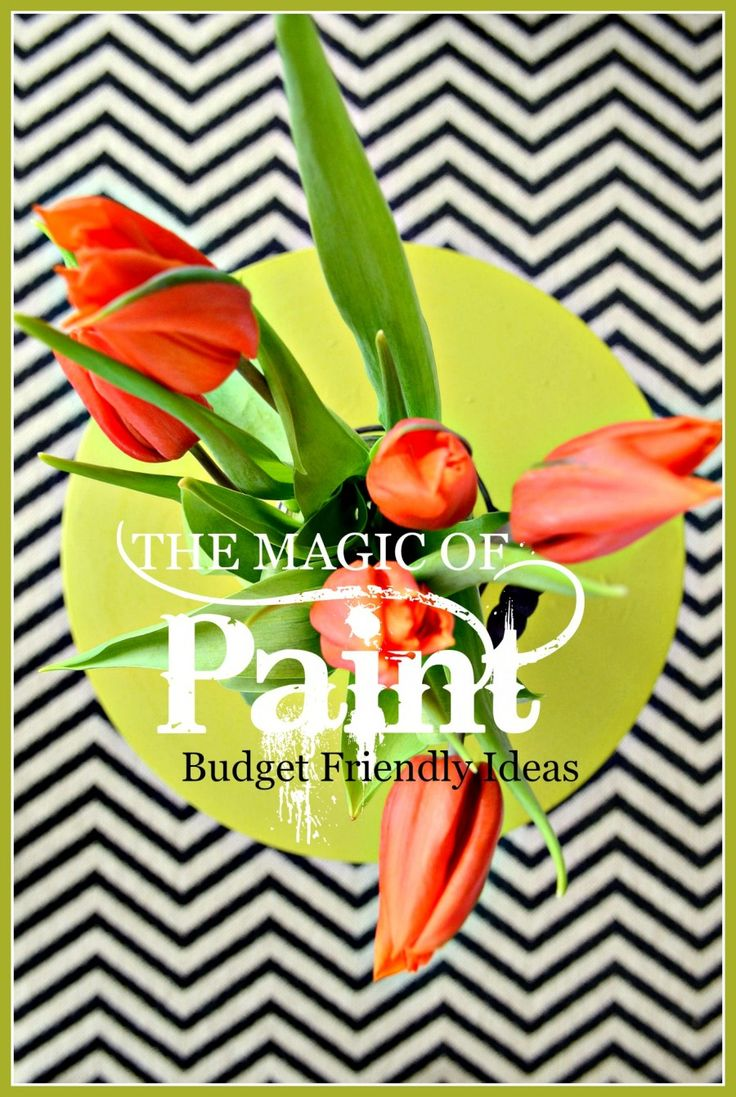 THE MAGIC OF PAINT-Budget friendly, easy to paint ideas-stonegableb...