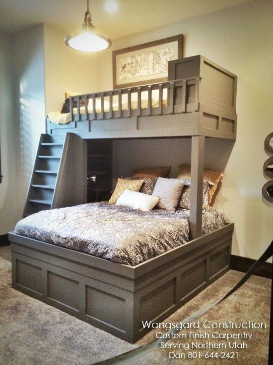 The only thing I don't like is that post holding up the loft. I think I would ex...