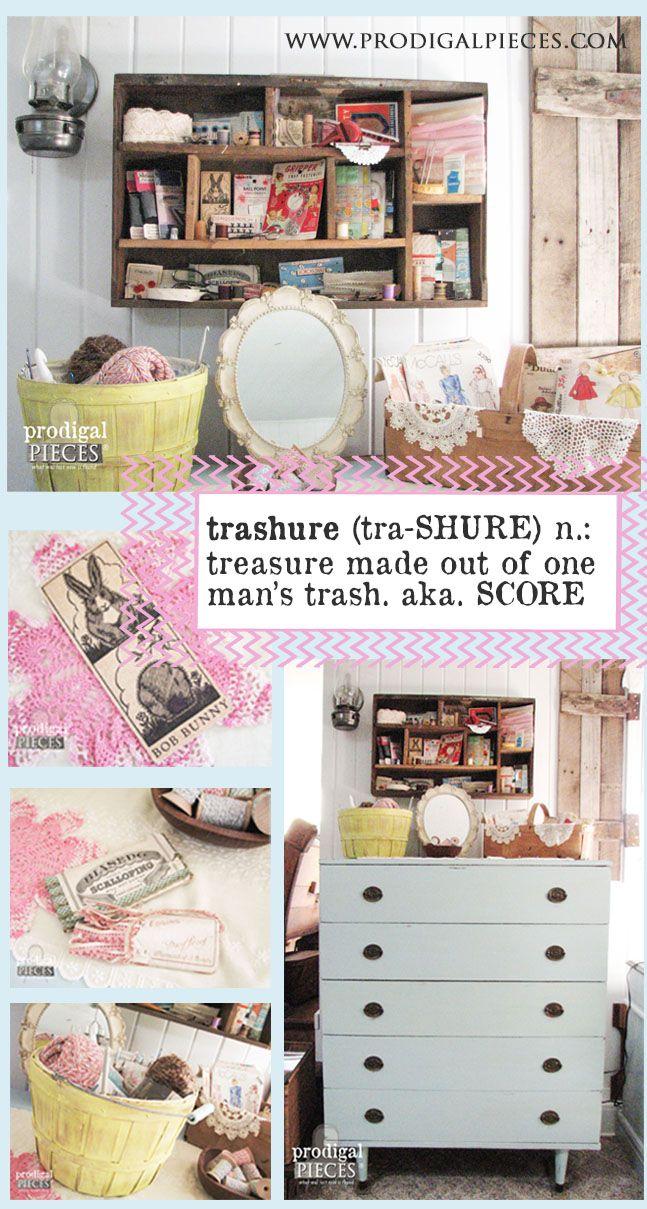 Trashure: Making Treasure Out of Trash