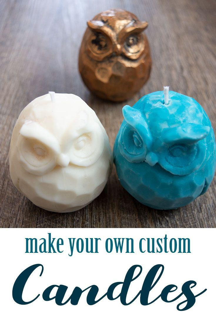 You can make detailed custom DIY candles with EasyMold Liquid Silicone Rubber Mo...