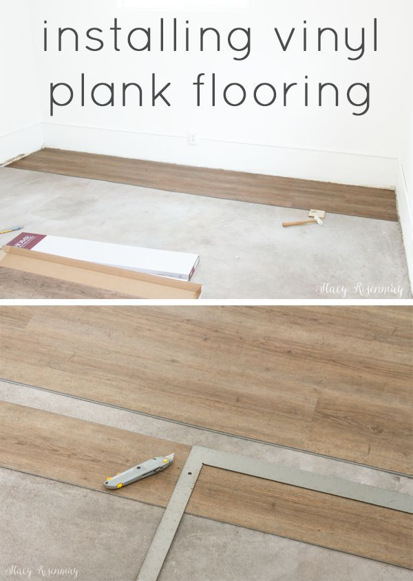 installing vinyl plank floors #vinylflooring #vinylplankflooring #plankflooring ...
