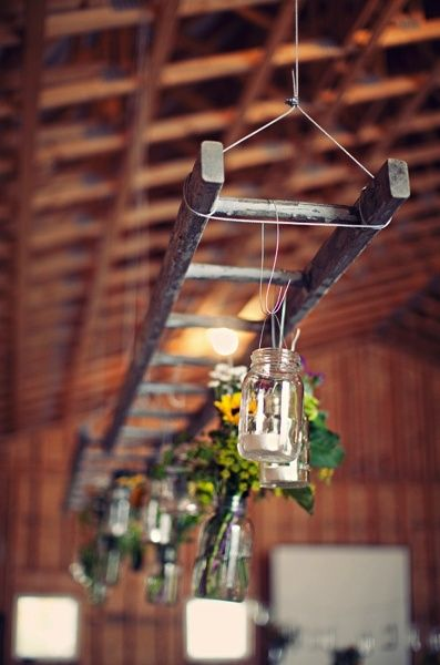 ladder decor and more #diy
