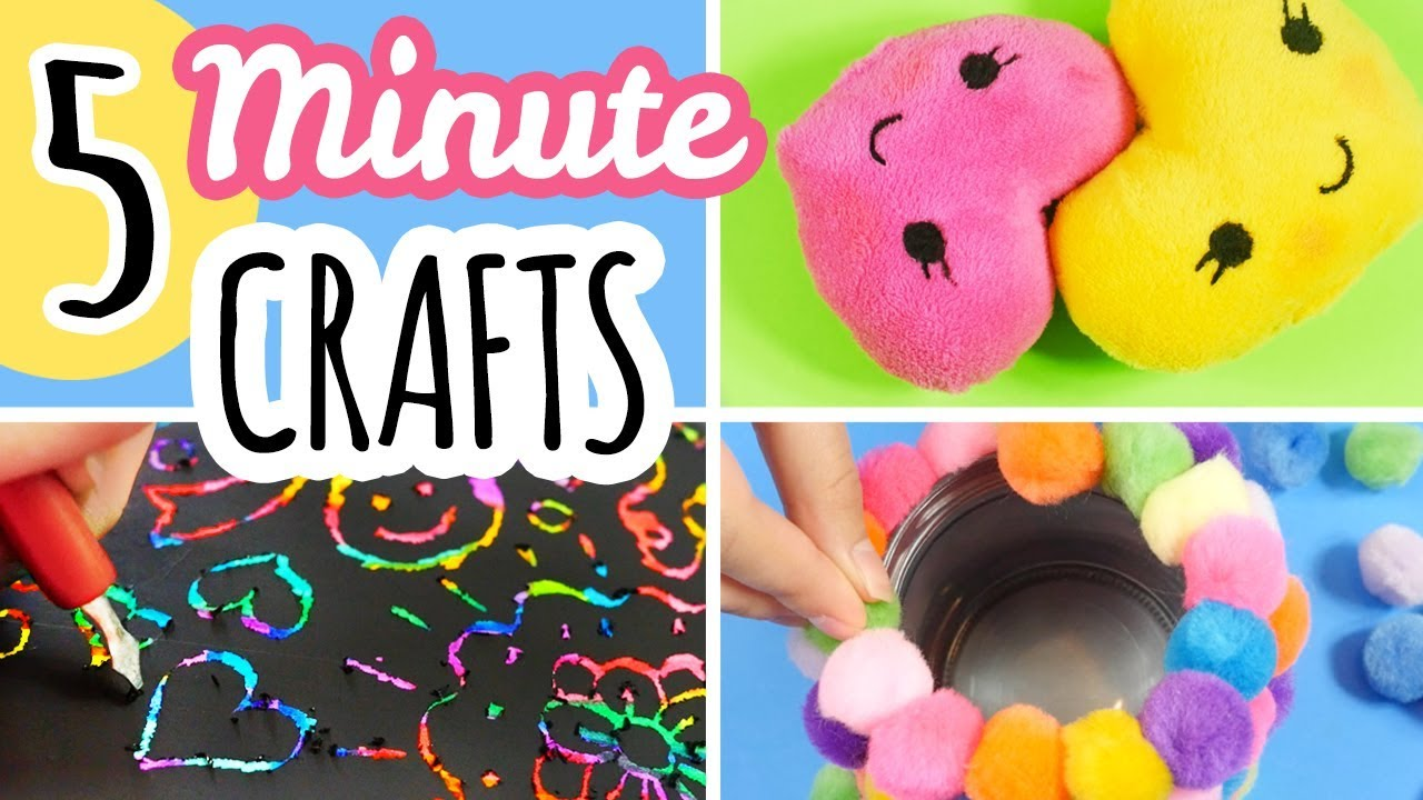 Diy Projects Video 5 Minute Crafts To Do When You Are Bored