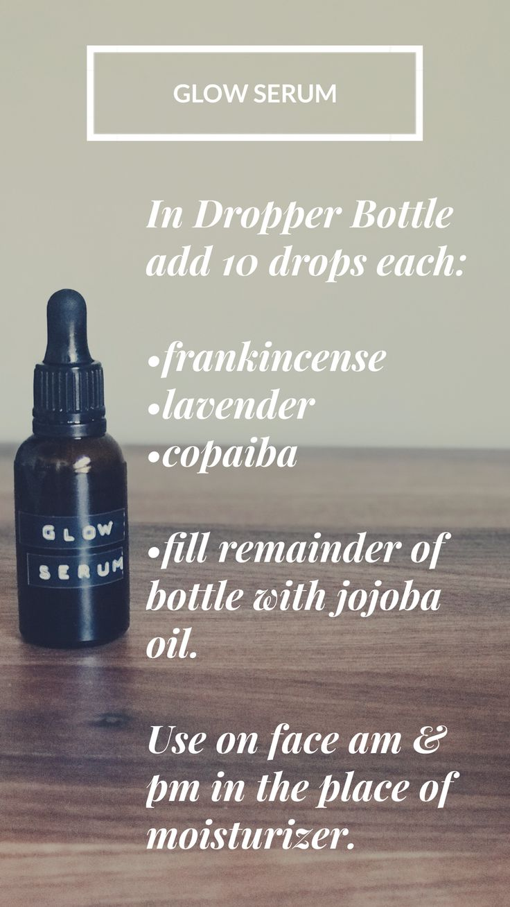 This amazing glow serum is made using Young Living Essential Oils and it has so ...