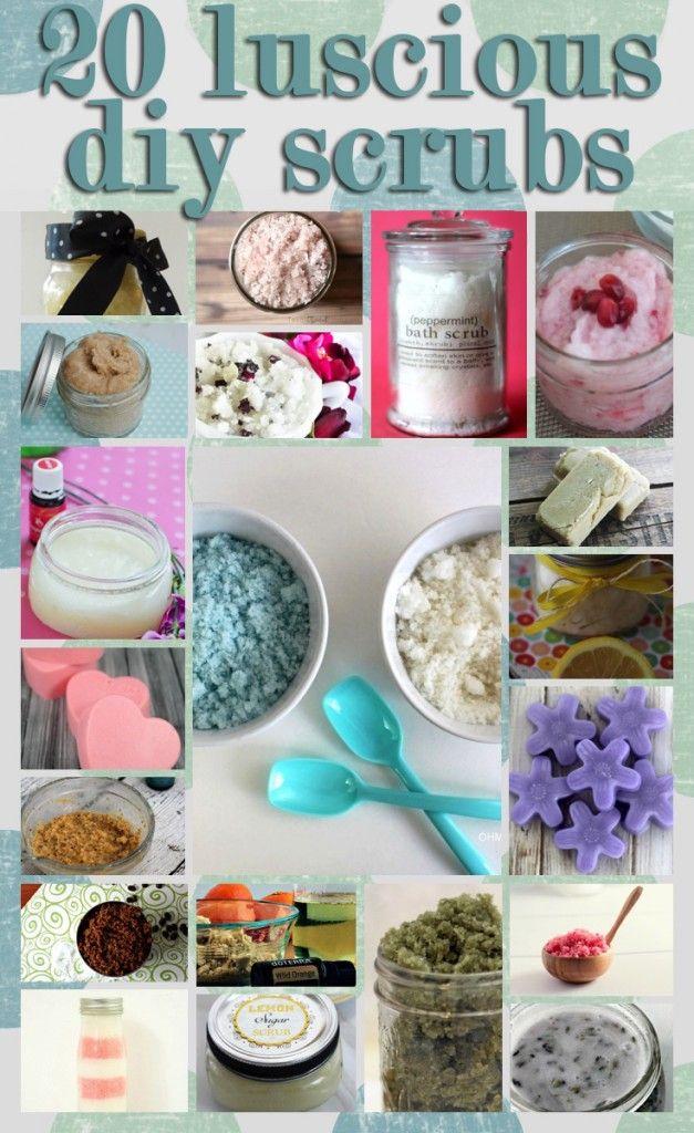 20 Luscious DIY Scrubs for Mom's Calgon Moment