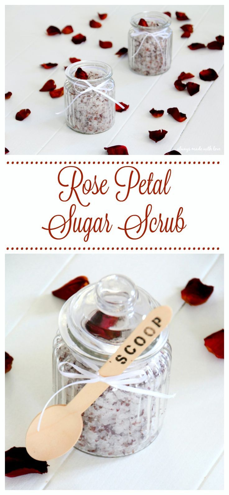 A lovely yet simple homemade sugar scrub that will leave you feeling relaxed and...