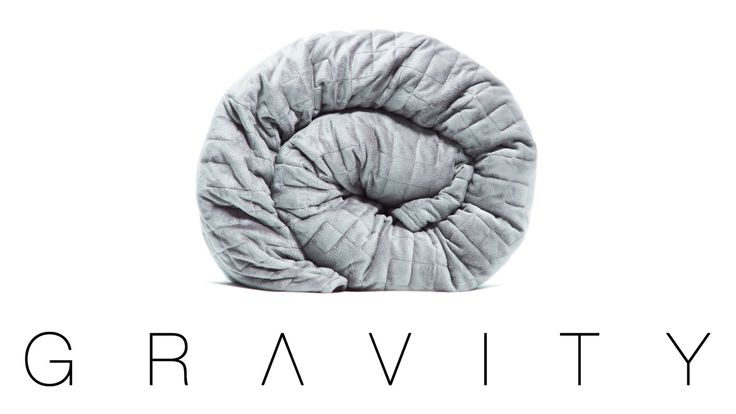 A weighted blanket engineered to be 10% of your body weight to naturally reduce ...