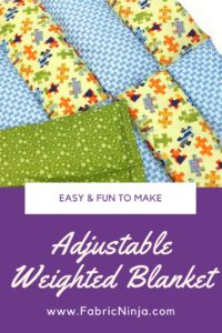 Best Weighted Blanket Patterns #Autism #Sewing #SPD