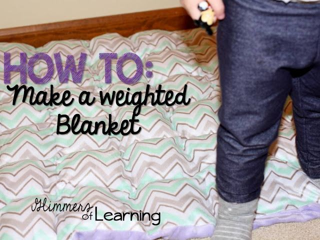 Have you ever wanted a weighted blanket? If so here is a tutorial for you! In 10...